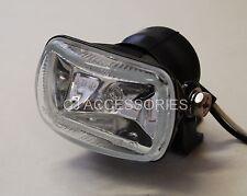 Custom Mini Fog Spot Light Black Motorcycle Headlight Streetfighter Cafe Racer