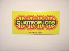 VECCHIO ADESIVO AUTO anni '80 / Old Sticker AUTO SPRINT (cm 14 x 7)