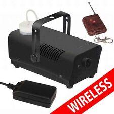 WIRELESS SMOKE / FOG MACHINE 400W DJ DISCO LASER LIGHT CLUB FOGGER PUB HOME WATT