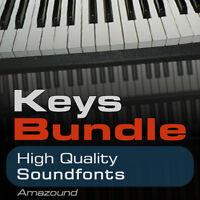 40 PIANOS +64 RHODES +64 HAMMONDS SOUNDFONT BUNDLE 168 SF2 FILES VALUE DOWNLOAD