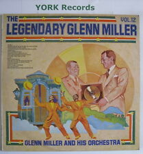GLENN MILLER - The Legendary Vol 12 - Ex Con LP Record RCA Victor LSA 3239