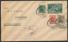 Sieger #142 Zeppelin Lz127 Flight Uruguay To Germany Cover March 1932 Br2694