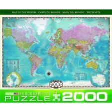 Puzzles et casse-tête cartes, nombre de pièces 2000 - 4999 pièces