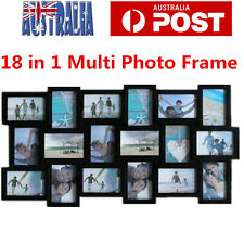 Multi Photoframe Frames 18 in 1 Family Picture Wall Decor Photo Frame Gift OZ
