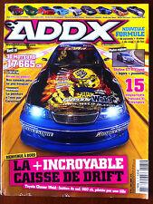ADDX n°81 du 6/2008; Toyota Chaser Weld/ Best Of 30 moteurs 17665 cg/ 15 Projets