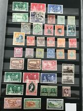 Stamps British Empire Good Selection of 80 mint & used