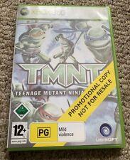 TMNT Teenage Mutant Ninja Turtles Xbox 360 Promotional Copy