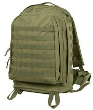 Rothco Tactical MOLLE II 3 Day Assault Pack Backpack in Olive Drab OD Green