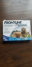 New listing Frontline Plus Flea and Tick Control for Dogs 23-44 Lbs - 3 Doses out of 6