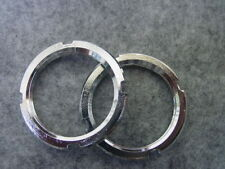 2 Konterringe Lockring  für Bahnrad oder  Fixie  1,29x24 TPI 32,6 mm