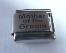 MOTHER OF THE GROOM Italian Charm Wedding Party 9mm fits Classic Bracelets N135