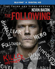 The Following Complete Third and Final Season 3 Three Brand New Blu-ray Sealed