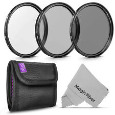 49MM Filter Kit (UV CPL ND4) for Sony Alpha & NEX Lenses by Altura Photo®