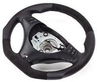 Aplati Alcantara Volant en Cuir BMW M-POWER E81, e92 Neuf Cuir - Couverture 1