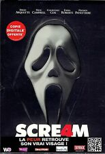 DVD -  SCREAM 4 - Neve  Campbell