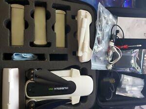 Hubsan H117S Zino Drone GPS 5G WiFi 4K with Range Extender - Full Set + Extras