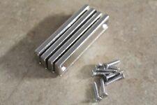 Strong Neodymium Rectangle Pot Magnets (4pcs. / 8pcs.) w/ Mounting Screws