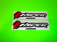 HYPER MOTORCYCLE MOTOCROSS SUPERCROSS MOUNTAIN BIKE SUSPENSION STICKERS DECALS