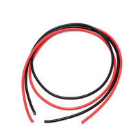 New 12 AWG Gauge Wire Silicone Flexible Copper Stranded Cables For RC Black Red