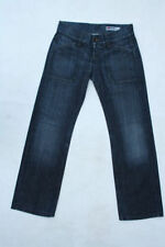 Regular Size Relaxed Fit, Slouch Faded Jeans for Women