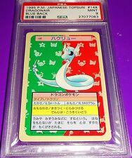 POKEMON DRAGONAIR JAPANESE TOPSUN BLUE BACK 1995 PSA 9