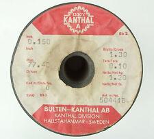 Kanthal A 0,15mm 77,4 Ω/m, Original Widerstandsdraht Heizdraht, 3-100 Meter