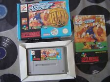SNES ISS International Superstar Soccer Deluxe (with box & manual) PAL