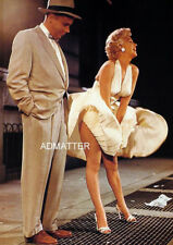 Marilyn Monroe Vintage Pin-up Poster! Photo from 7 Year Itch Movie Dress Way up!