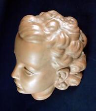 schöne Wandmaske Nr. 730 - Goldscheider Wien