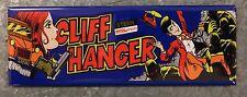 Cliff Hanger Arcade Game Marquee Fridge Magnet