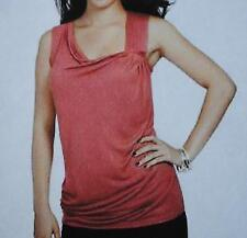 NWT Daisy Fuentes Petites Pintuck Pink Tank Top Size PL  Price on tag is $40