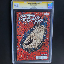 "AMAZING SPIDER-MAN #700 💥 SIGNED STAN LEE 💥 CGC SS 9.4 ""Death"" of Peter Parker"