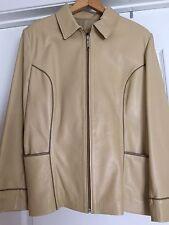 Women's DyApell Leather Jacket, El Corte Ingles, Madrid , Size 44, US 12