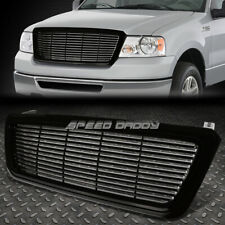 BILLET STYLE FRONT UPPER HOOD BUMPER ABS GRILL/GRILLE/FRAME 04-08 F150 P2 TRUCK