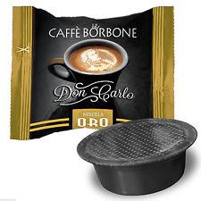 100 Capsule Caffè Borbone Don Carlo Miscela Oro compatibile Lavazza a Modo Mio