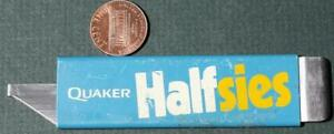 1983-84 Quaker Oats Cereal Halfsies box cutter knife-Only lasted 1 year-VINTAGE!