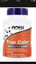NOW Foods - True Calm Neurotransmitter Support - 90 Vegetable Capsule(s)