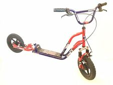 Dyno Scooter Old School Freestyle Trick BMX Scoot Front Rear Brakes & Suspension