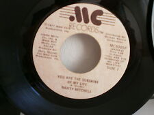 MARTY MITCHELL You are the sunshine of my life ( WONDER ) MC5005F