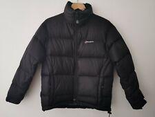 Berghaus Black Down Filled Puffa Puffer Jacket Coat Size UK 10