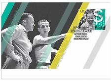 FDC Famous Polish Boxing coach Feliks Stamm Olympics Games 7 participated