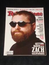 Rolling Stone magazine 2011, Zach Galifianakis, Bon Iver, True Blood, Black Keys