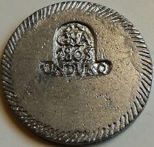 RÉPLICA Moneda Gerona. 1 Duro. 1808. Rey Fernando VII. España. Guerra