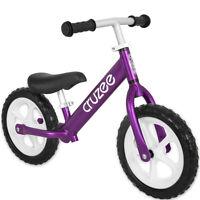 "Cruzee Two 12"" Aluminium Balance Kids Bike Bicycle Purple"