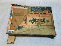 Dexter Cigars 1934 Original Holiday Wrapped Cigar Box R G Sullivan New Hampshire