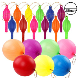 """20X LARGE 18"""" PUNCH BALLOONS PARTY BAG FILLERS GOODS CHILDREN LOOT BAGS TOYS UK"""