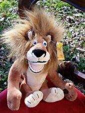 "Madagascar Alex Plush 8"" Animal Toy 2005 Dreamworks Lion iconic character Xmas"