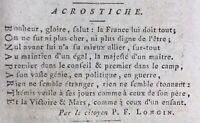 Bonaparte 1800 Déporté de Cayenne Guyane Colonie Franconville Aymé Consulat