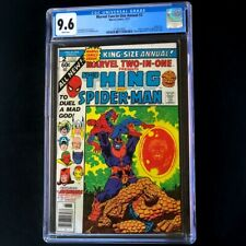 Marvel Two-In-One Annual #2 (1977) 💥 CGC 9.6 WHITE Pages 💥 Spider-man Comic