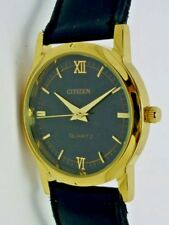 Women's CITIZEN GOLD PLATED QUARTZ WRIST WATCH - WORKING - orologio